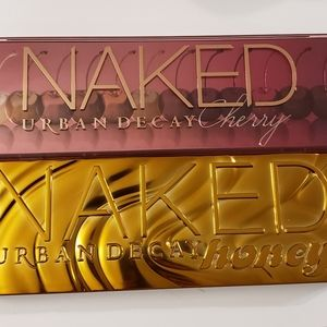 Urban Decay cherry and honey palette